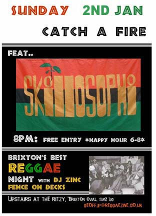 Kingman performed at Catch A Fire on 2nd January 2011